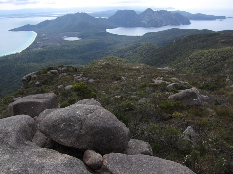 View from atop Mt Graham