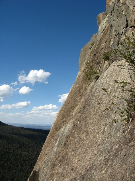 The crux slab pitch